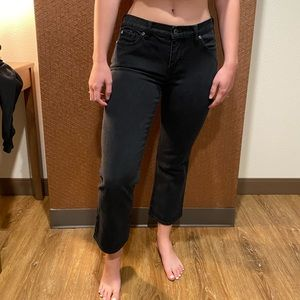 Tommy Bahama Black Cropped Jeans